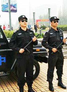 保安公司进行训练的意图是什么?